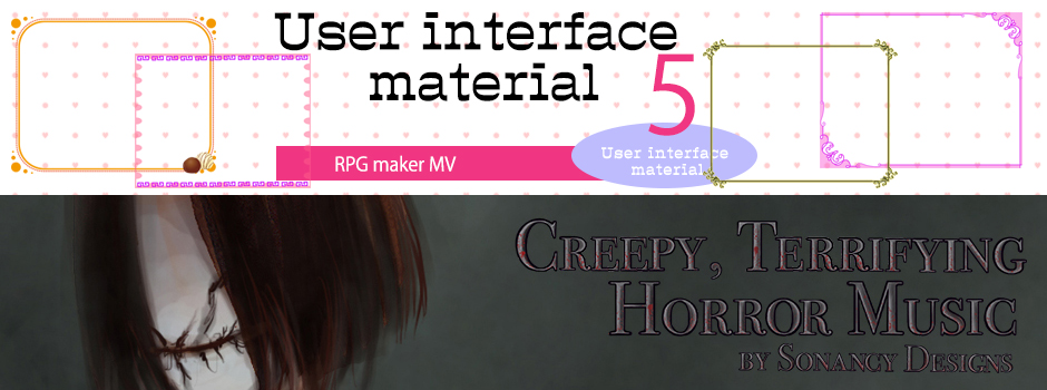 New Releases: Creepy Terrifying Horror Music, User Interface Material 5