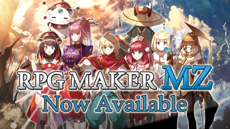 RPG Maker MZ is now AVAILABLE!