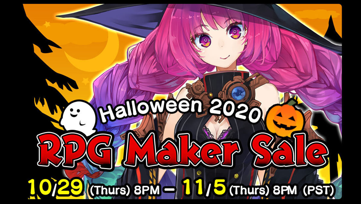RPG Maker Web Halloween Sale 2020!