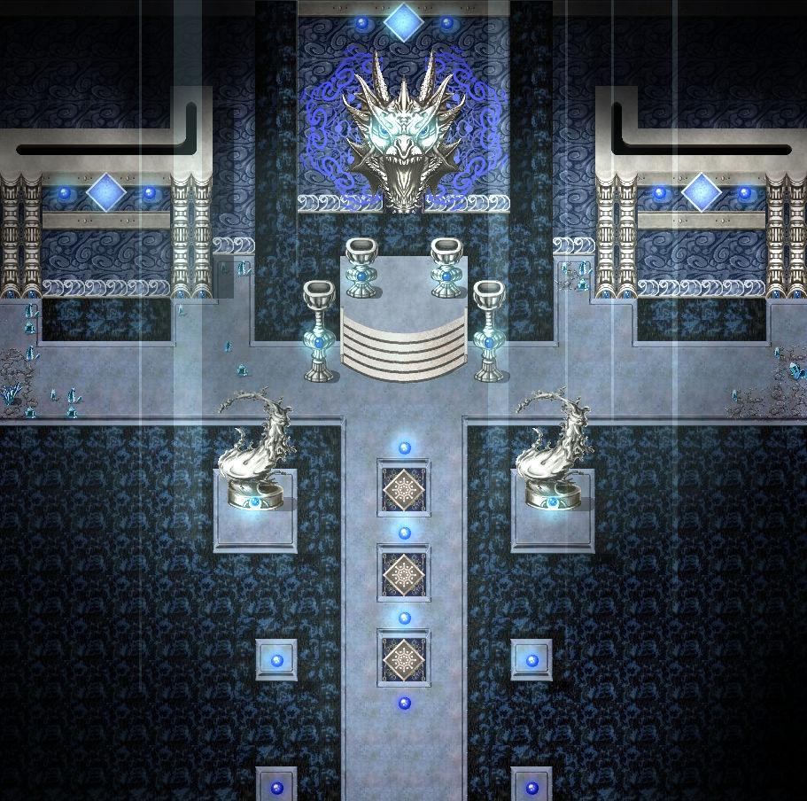 KR Elemental Dungeon Tileset - Fire Water Earth Wind
