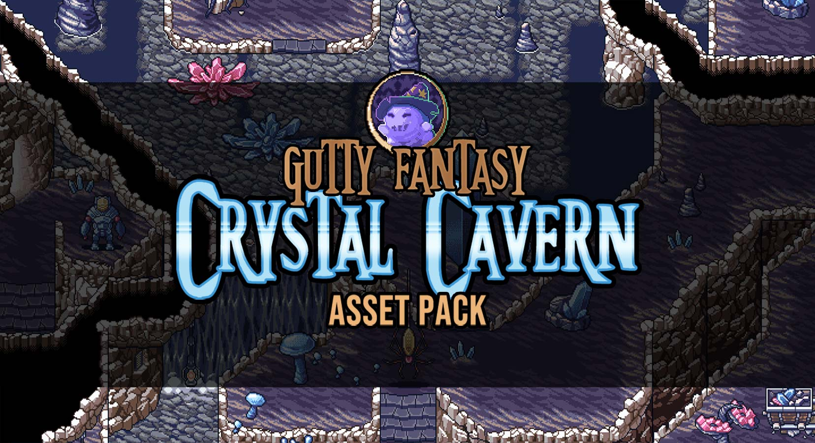 Crystal Cavern Asset Pack