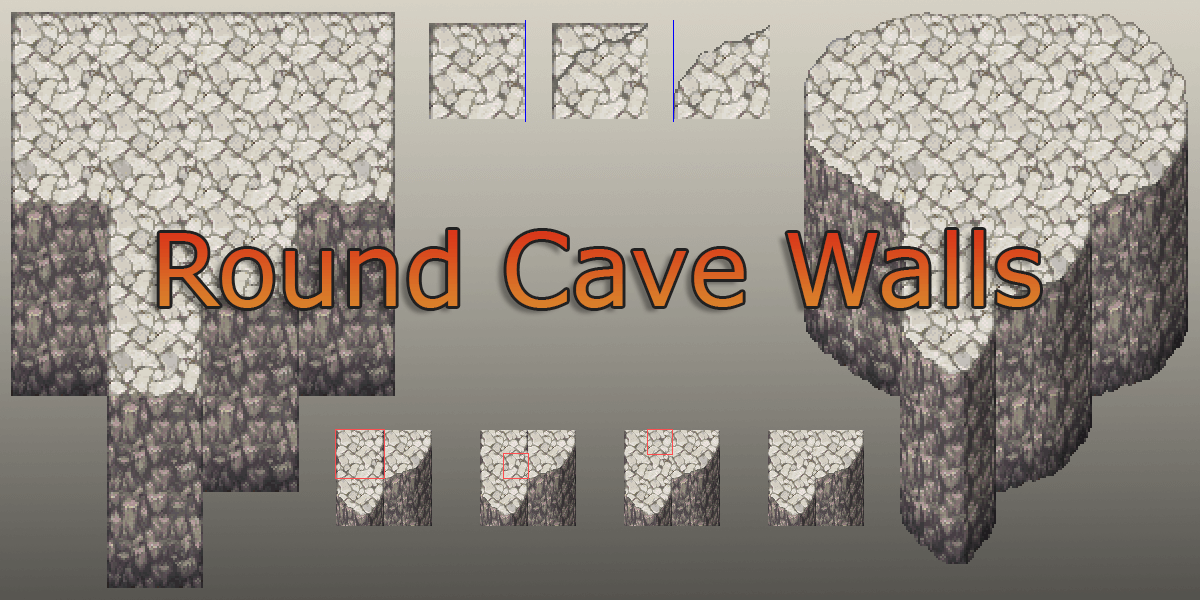 How to Make Rounded Caves Walls