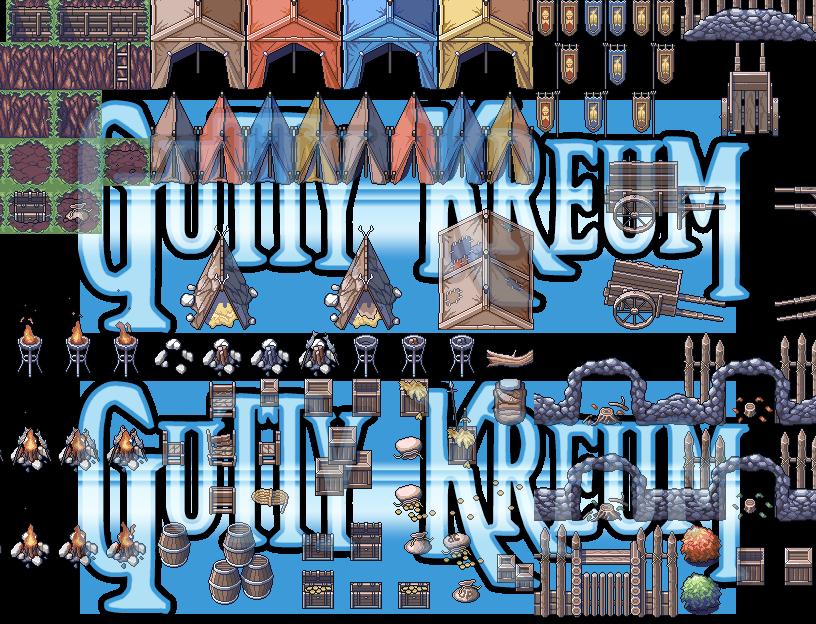 Rogue Encampment Game Assets