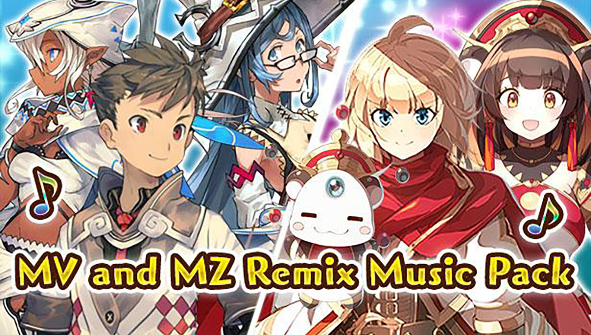 MV and MZ Remix Music Pack Update