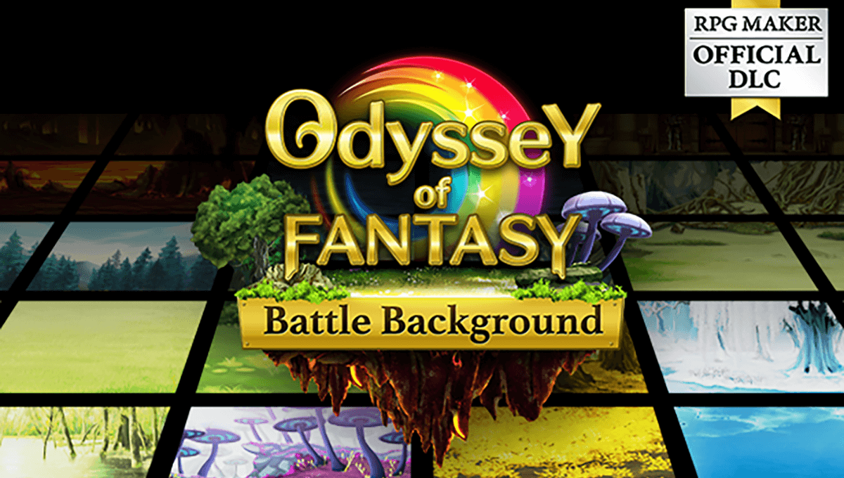 Special Release: Odyssey of Fantasy: Background Collection