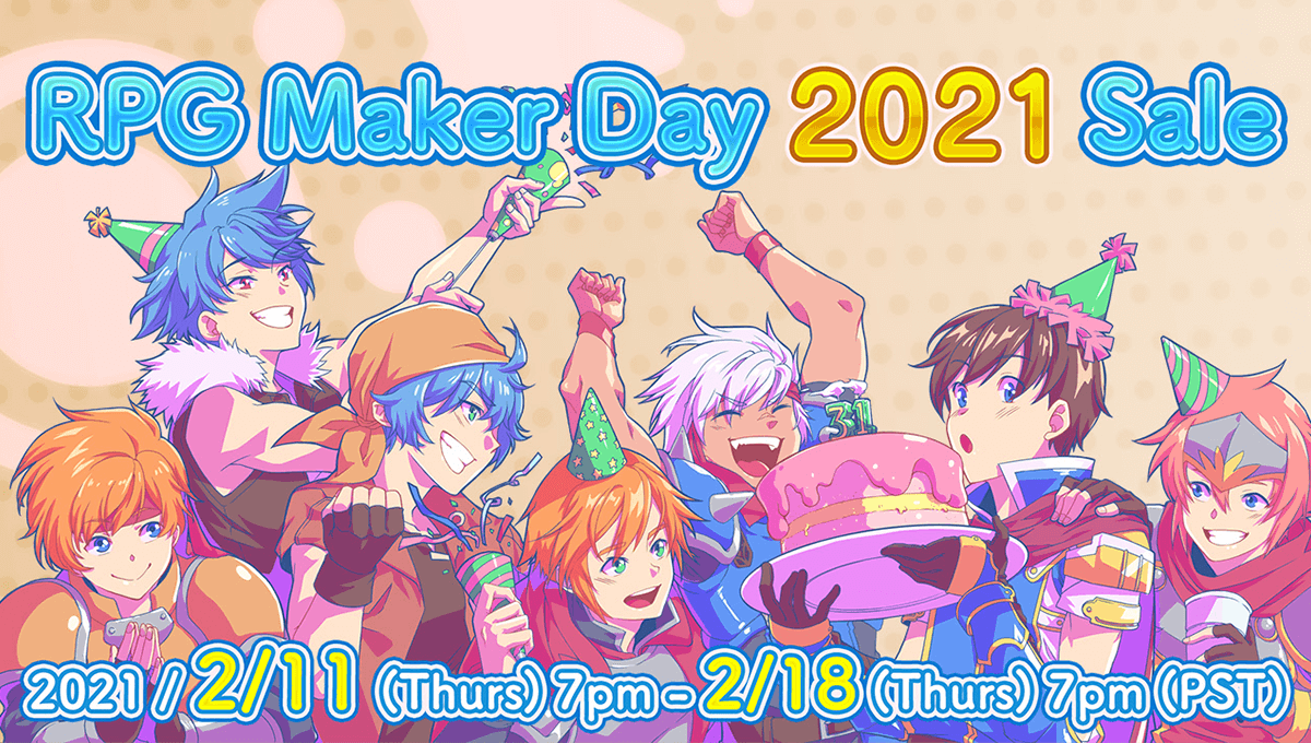 RPG Maker Day 2021 Sale!