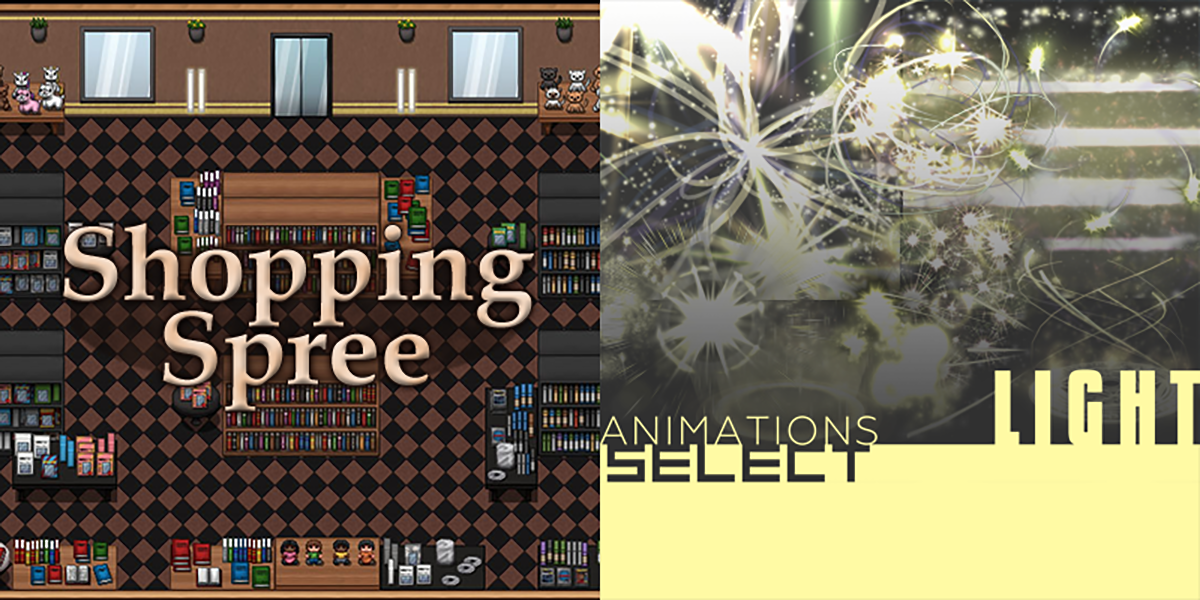 New Releases: Shopping Spree, Animations Select - Light