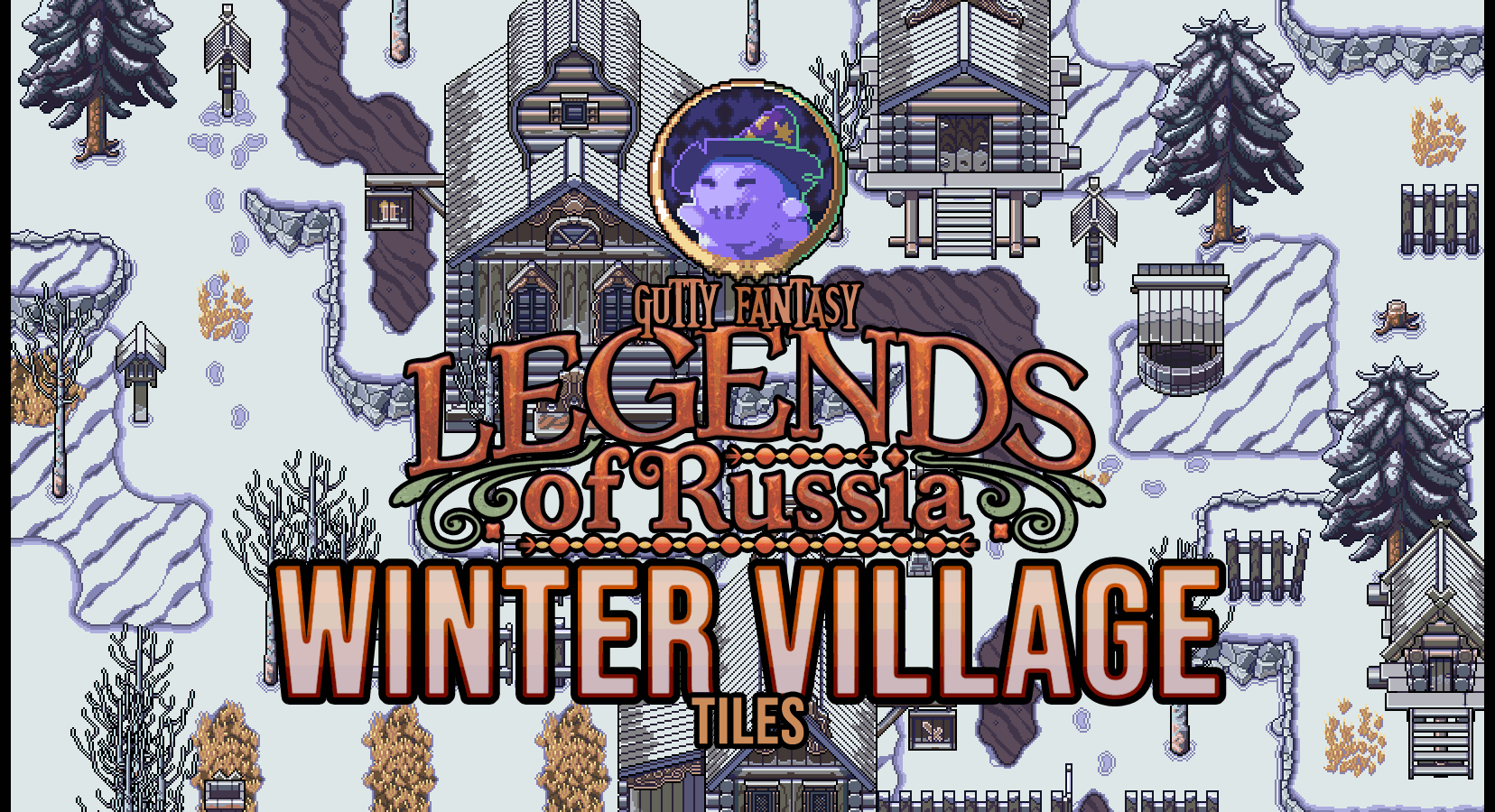 Legends of Russia - Winter Village Tiles