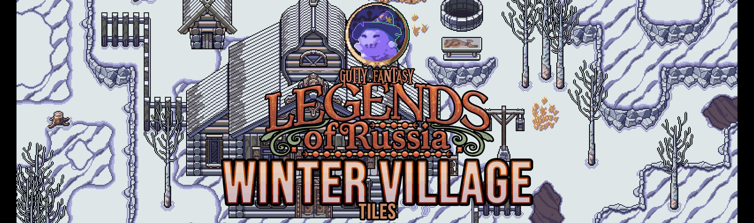 Legends of Russia - Winter Village Tiles