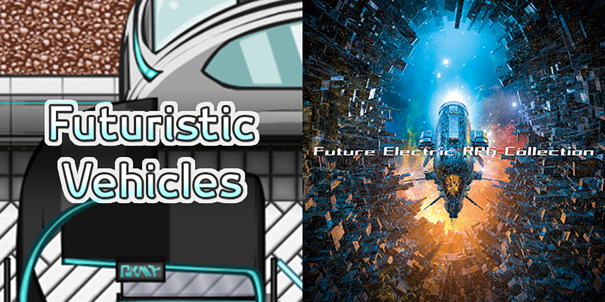 New Releases: Futuristic Vehicles, Future Electric RPG Collection