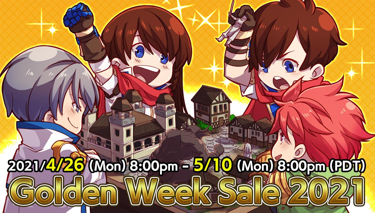 Degica Shop Golden Week Sale!