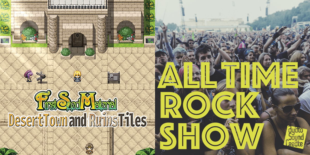 New Releases: FSM - Desert Town and Ruins Tiles, ALL TIME ROCK SHOW