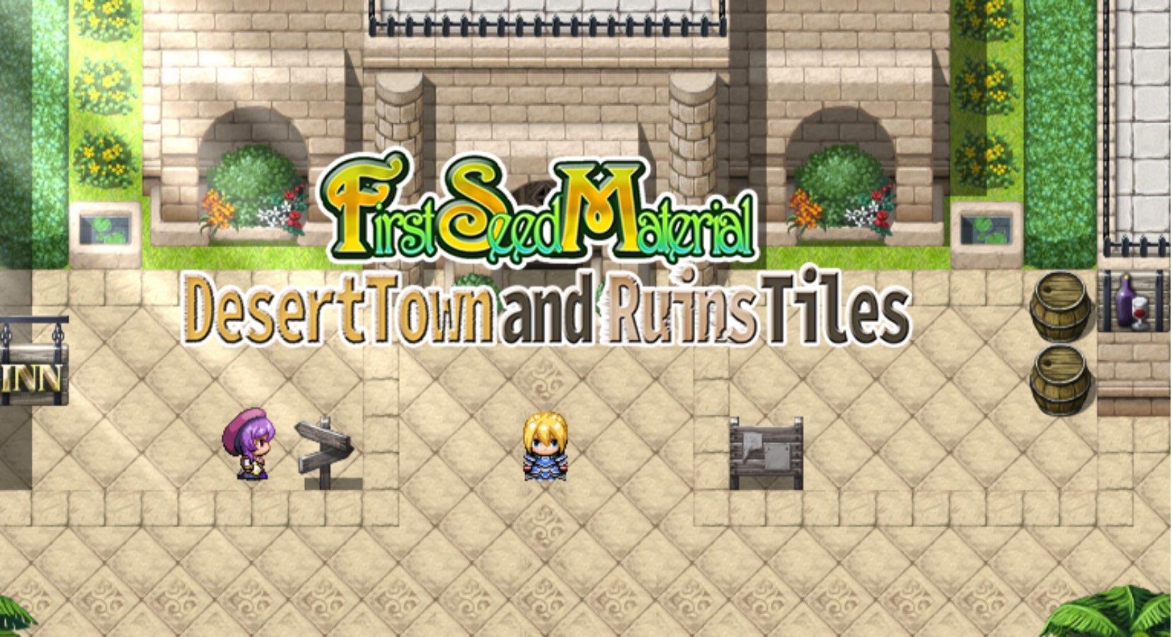 FSM - Desert Town and Ruins Tiles