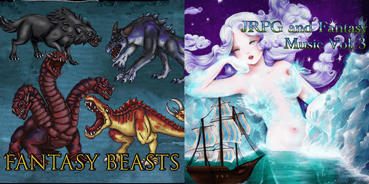 New Releases: Fantasy Beasts, JRPG and Fantasy Music Vol 3