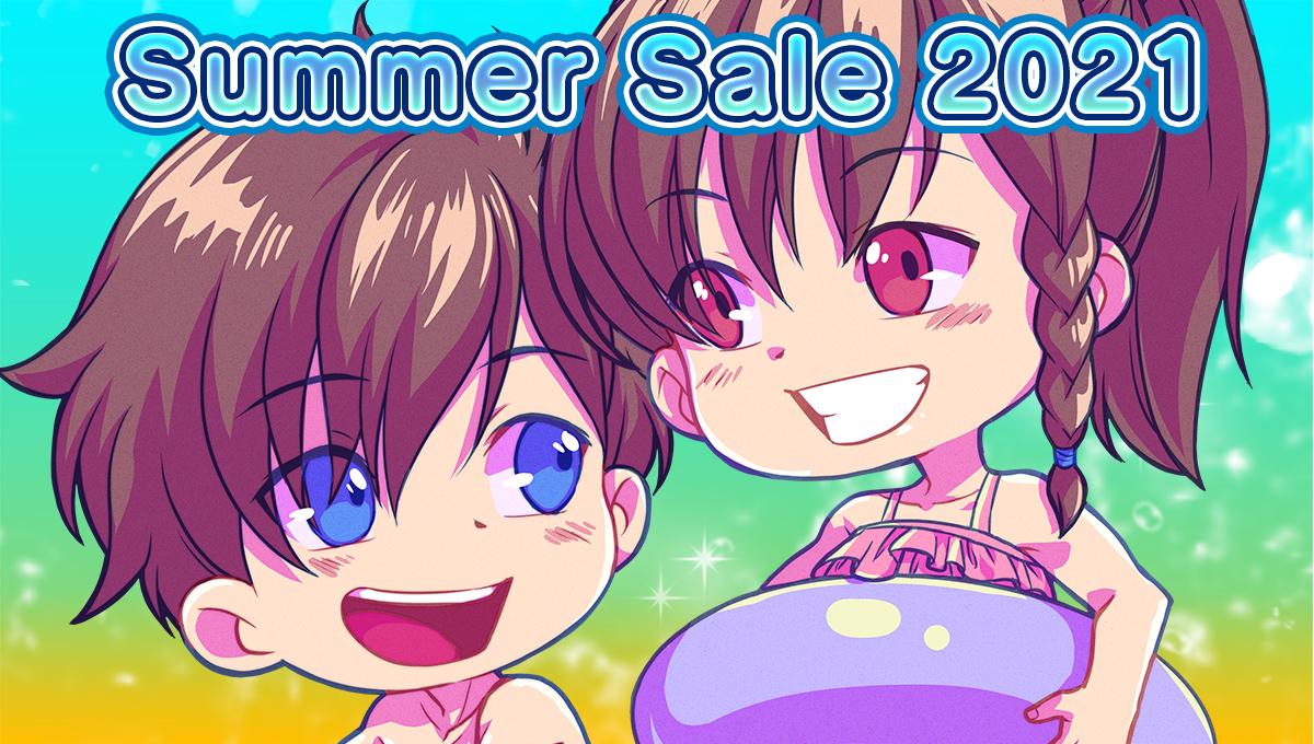 Degica Shop Summer Sale + Original Character Contest III Pack!