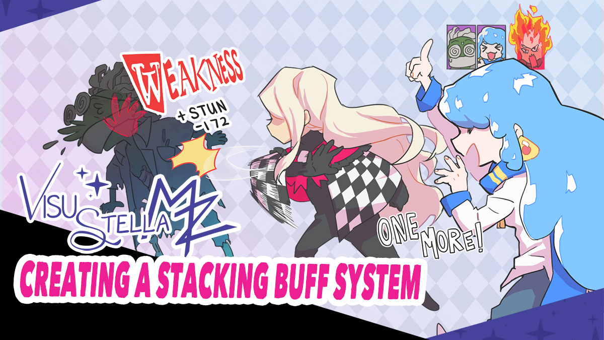 VisuStella MZ Action Sequence Series: Creating a Stacking Buff System