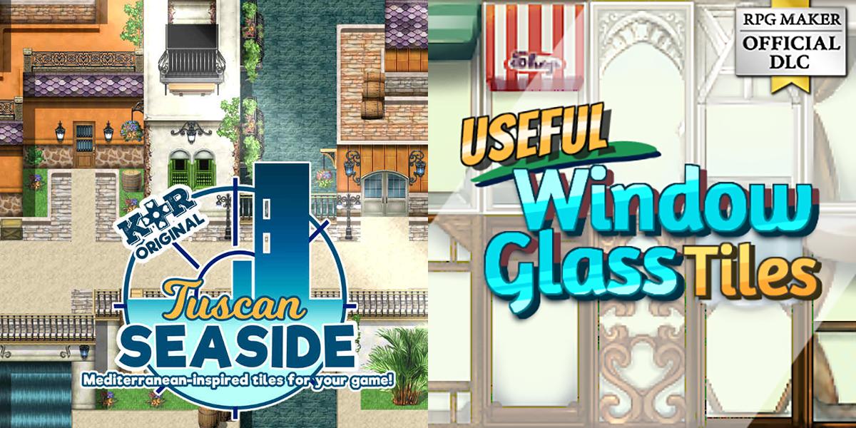 Steam Summer Sale + New Releases: KR Tuscan Seaside Tiles, Useful Window Glass Tiles