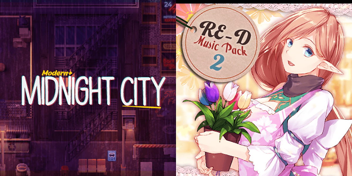New Releases: Modern + Midnight City, RE-D Music Pack 2