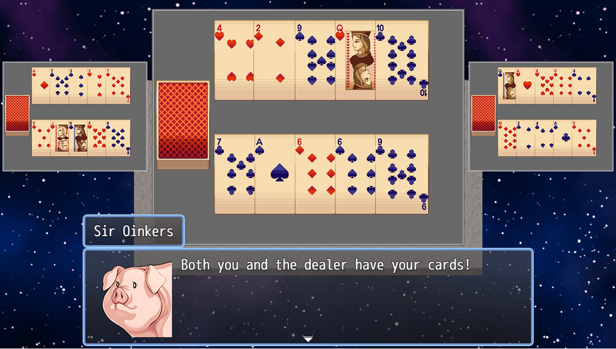 Card Game Eventing: Flipping Cards & Drawing a Hand