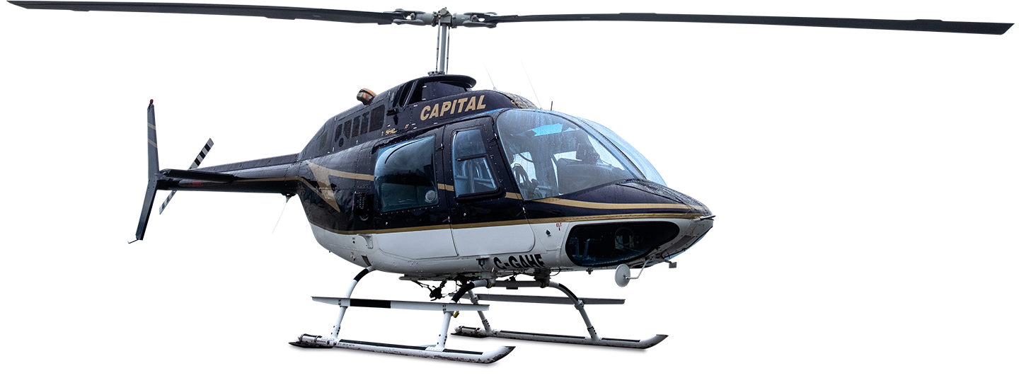 Capital Helicopters's Bell 206B Jet Ranger