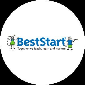 Best start logo circle