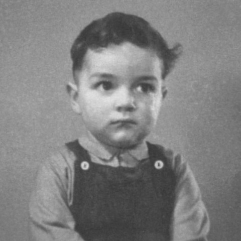 Dr Edward Melhuish as a child