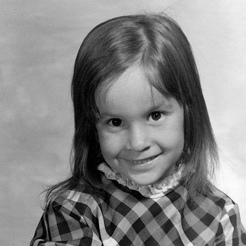 Dr Laura Jana as a child
