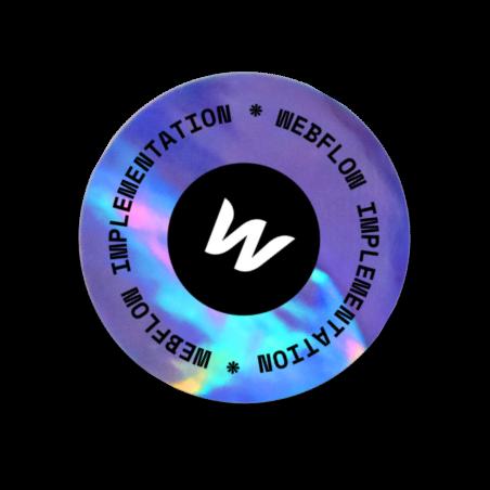 webflow sticker