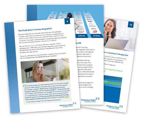 Páginas interiores del libro blanco de Flexspring iPaaS