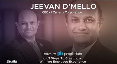 3 Steps to creating a winning Employee Experience- Jeevan D'mello [Interview]