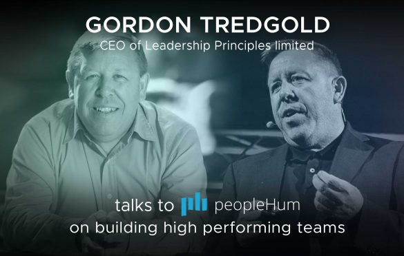 Building high-performance teams - Gordon Tredgold [Interview]