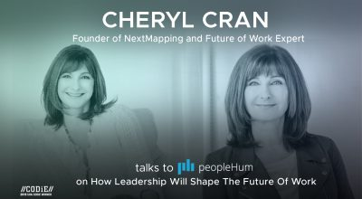 How leadership will shape the Future of Work - Cheryl Cran [Interview]