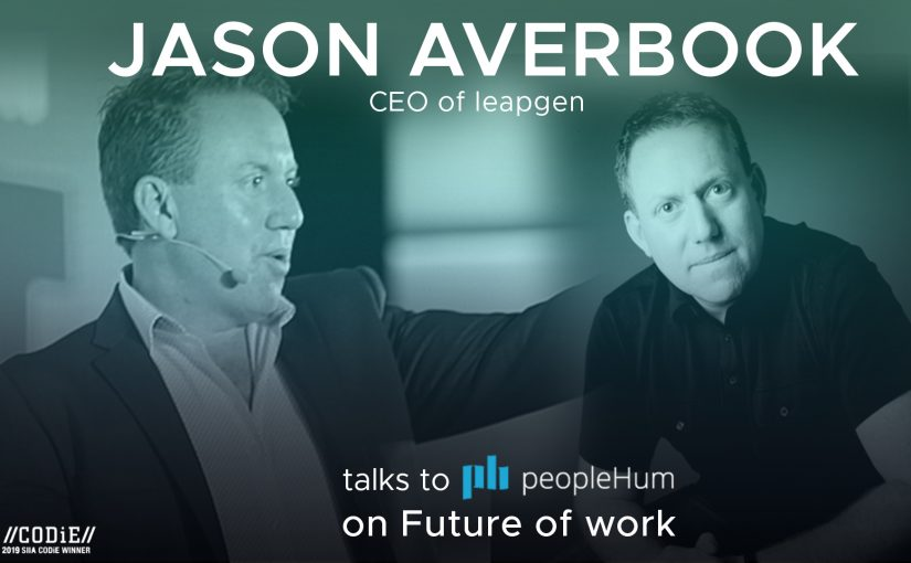 The future of work is now - Jason Averbook [Interview]
