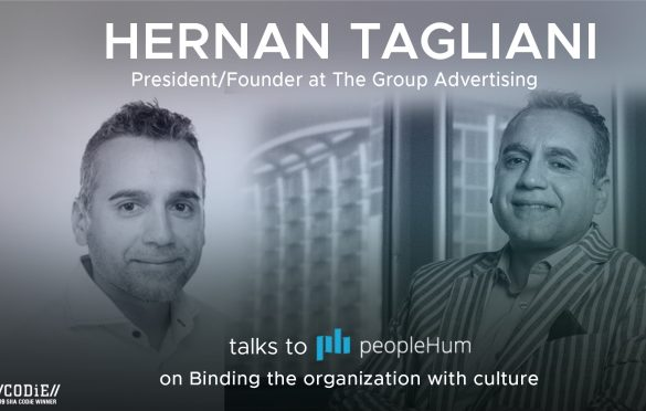 Binding the organization with culture- Hernan Tagliani [Interview]