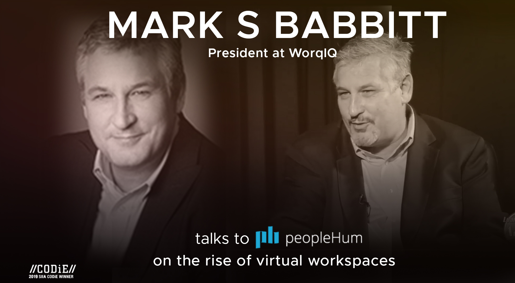 The rise of virtual workspaces- Mark S Babbitt [Interview]