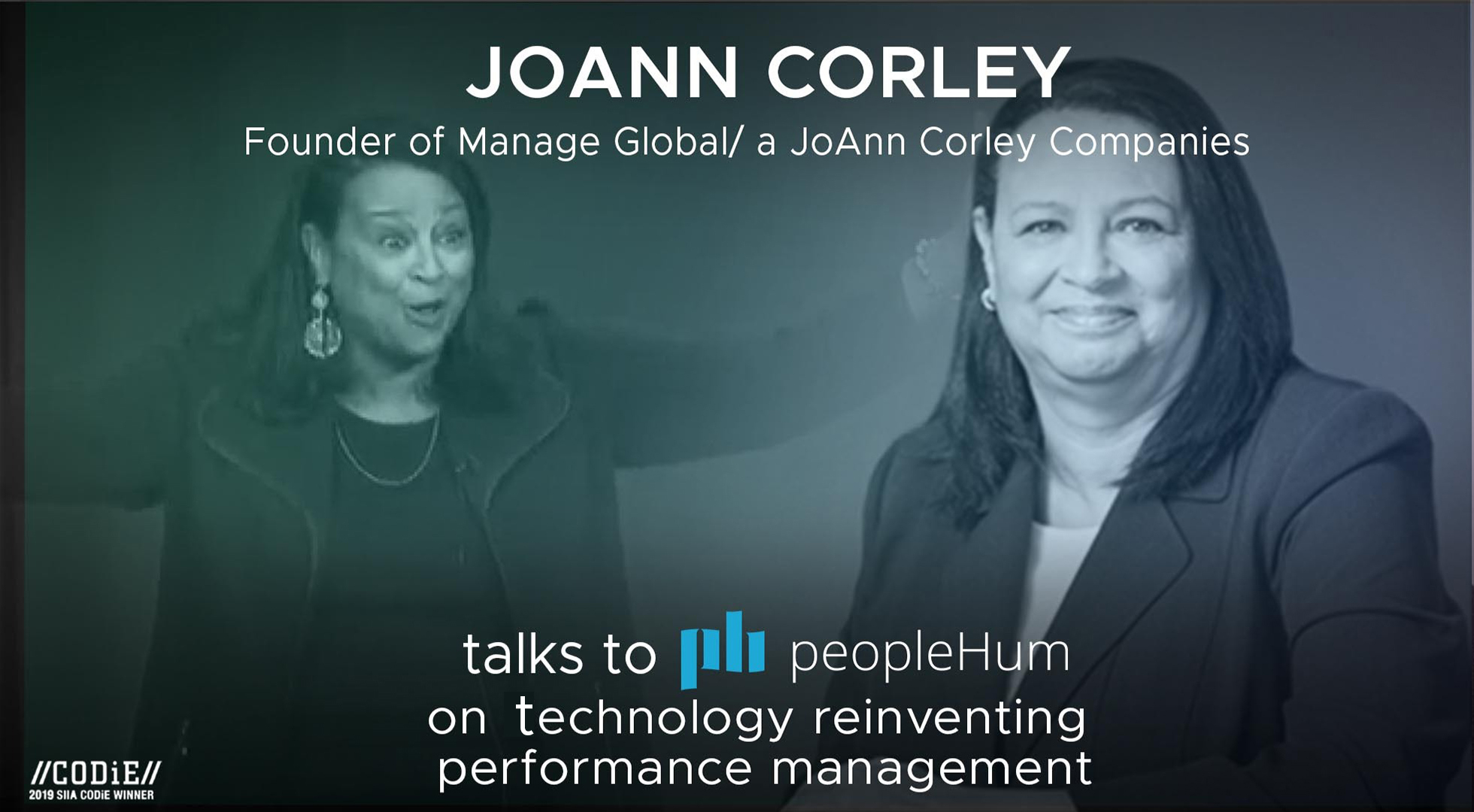 Technology reinventing performance management - Joann Corley [Interview]