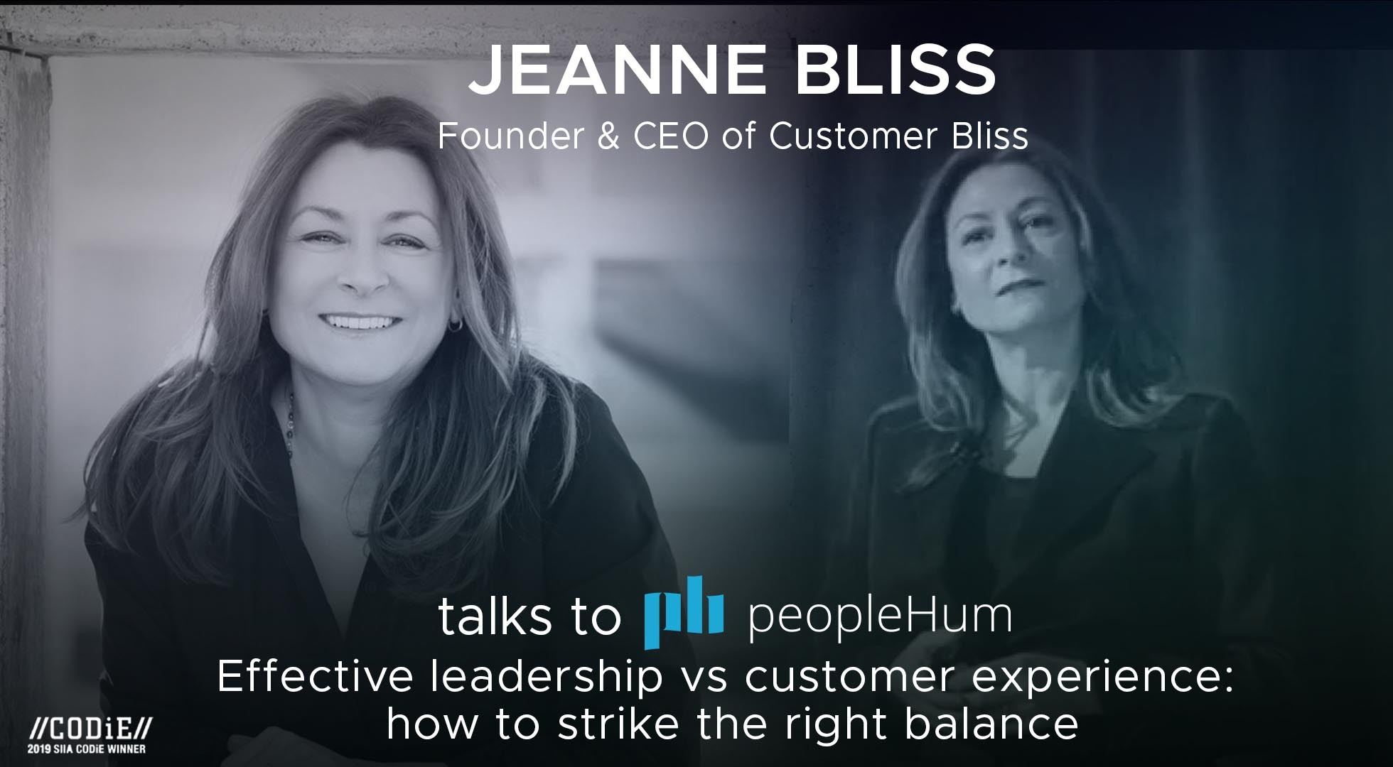 Effective leadership VS customer experience: How to strike the right balance - Jeanne Bliss [Interview]