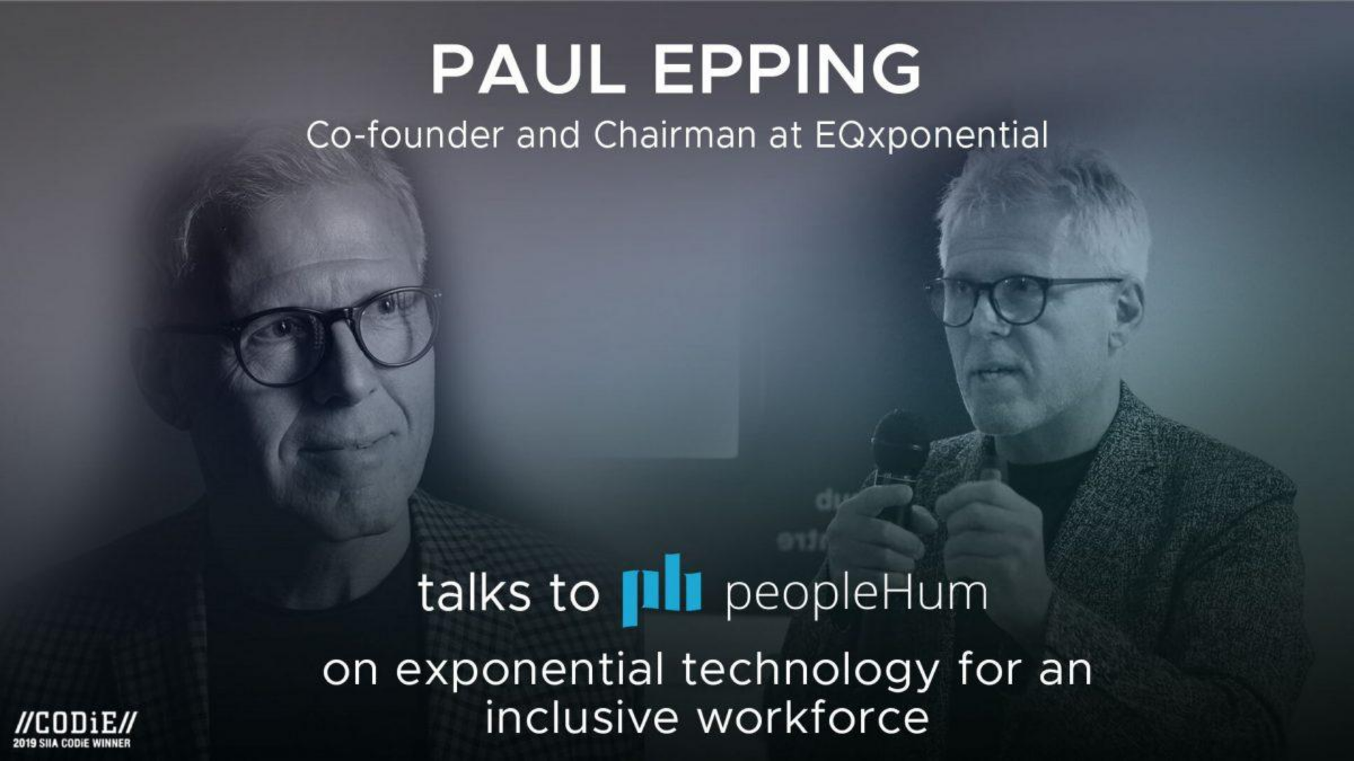 Exponential technology for an inclusive workforce- Paul Epping [Interview]