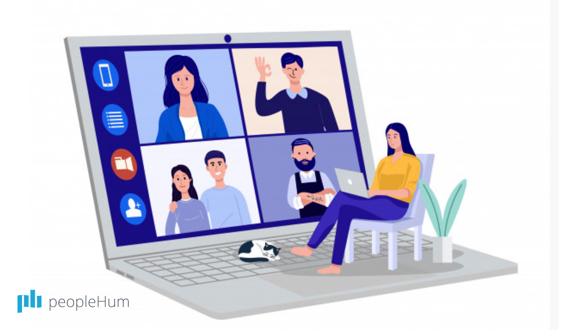 Fun and not-so-fun things about video conferences