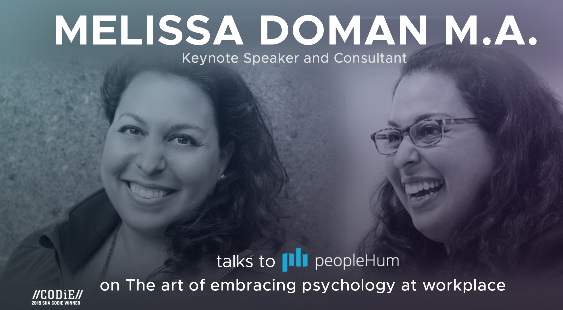 The Art Of Embracing Psychology At Workplace - Melissa Doman, M.A. [Interview]