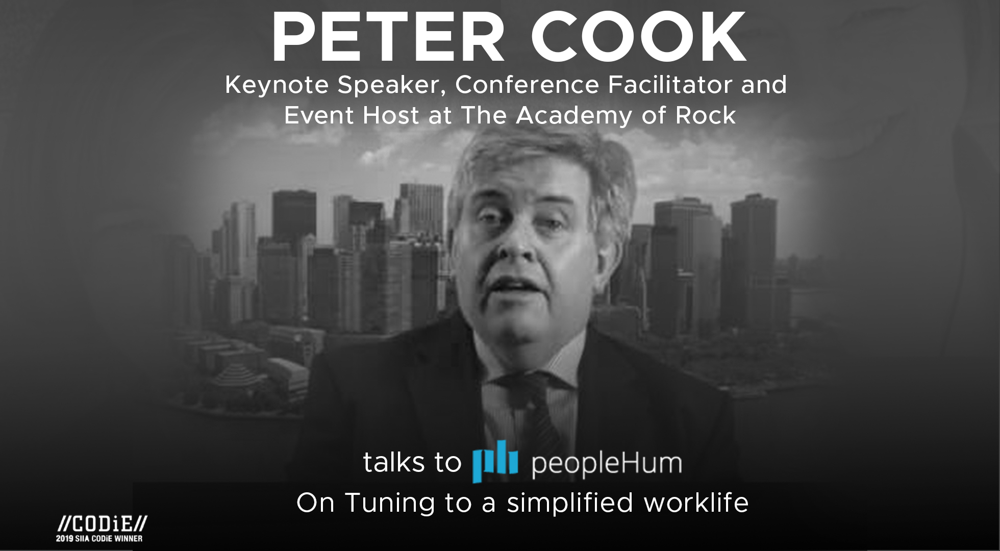 Tuning to a simplified worklife - Peter Cook [Interview]