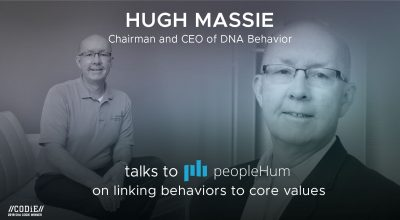 Linking behaviors to core values- Hugh Massie [Interview]