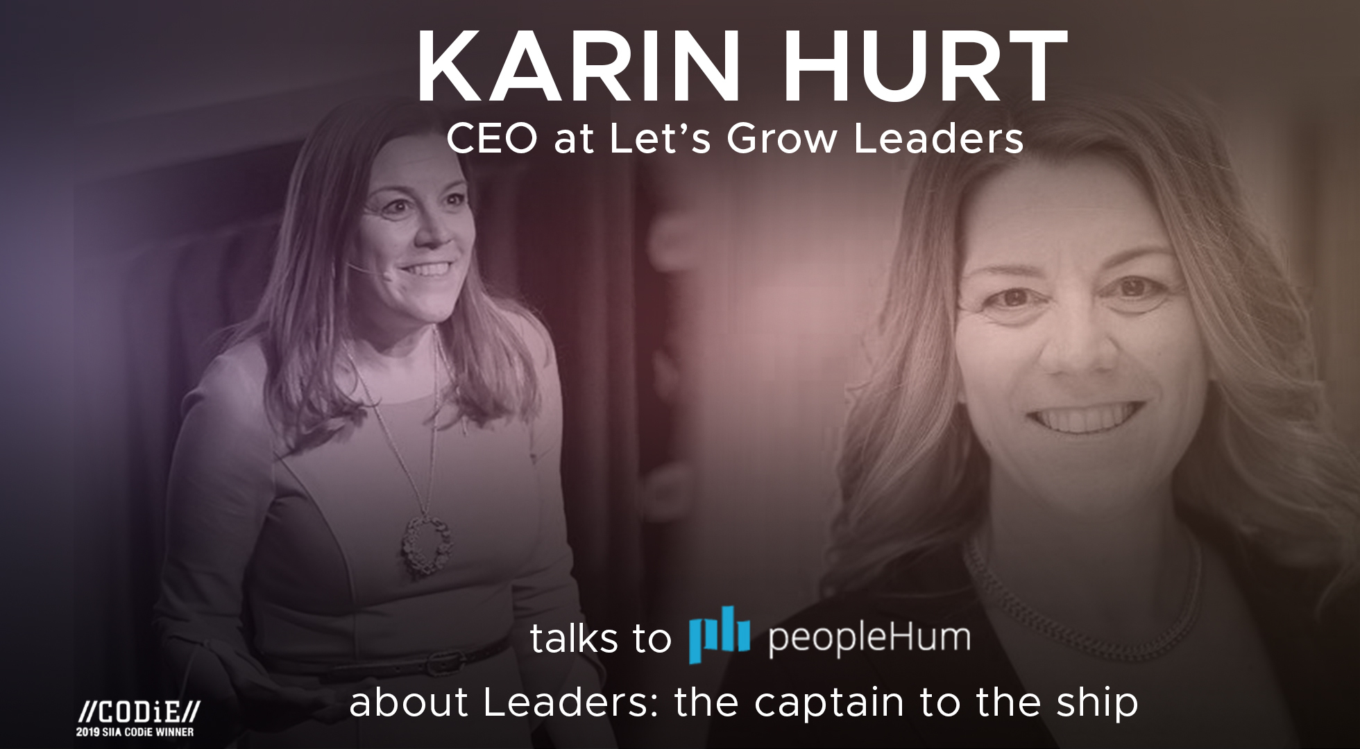 Leaders, the captain of the ship - Karin Hurt [Interview]