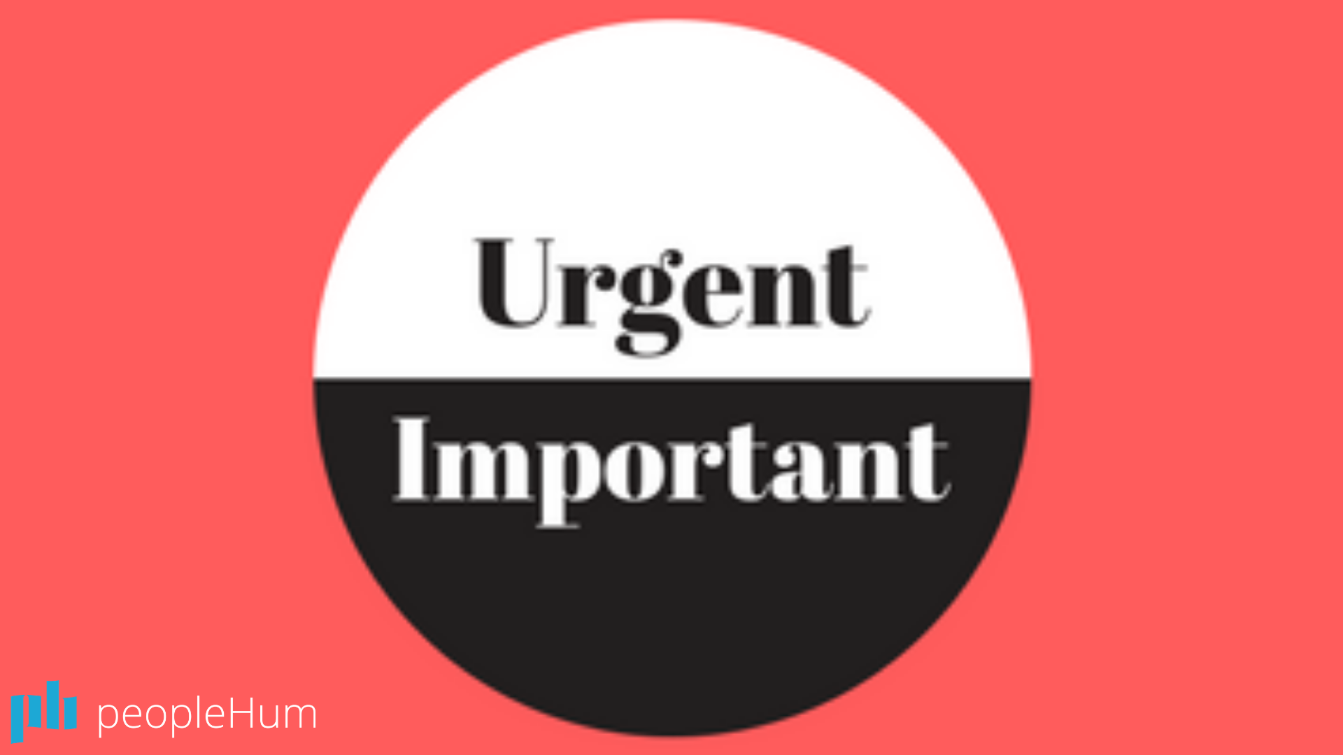 The divide between urgent and important tasks