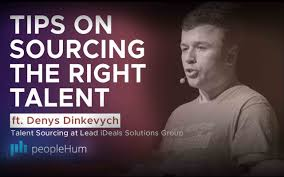 Tips on sourcing the right talent ft. Denys Dinkevych peopleHum