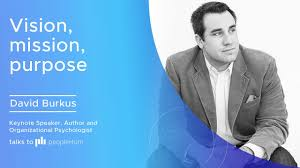 Vision,mission,purpose ft. David Burkus peopleHum