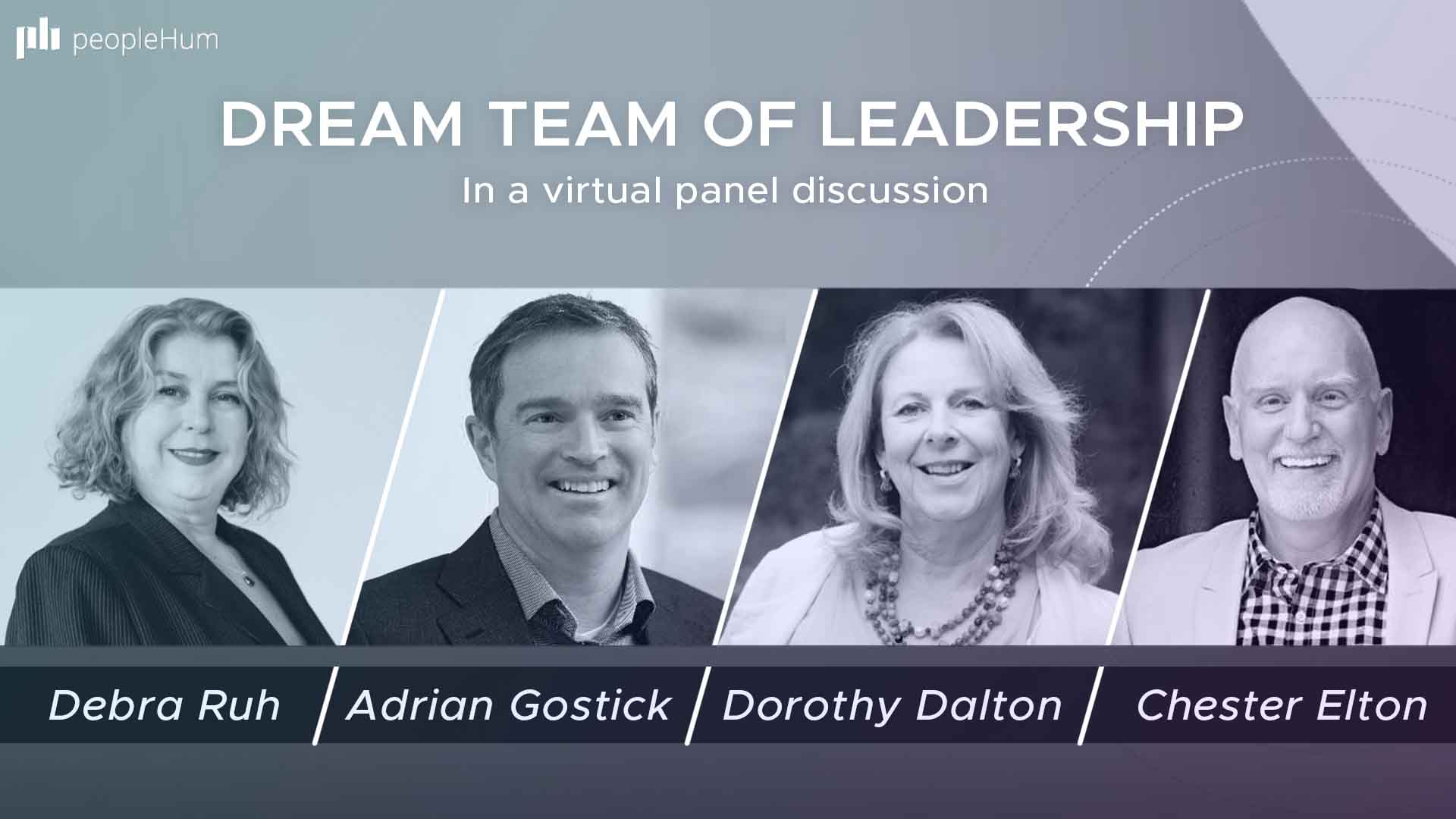 Dream team of leadership - In a virtual panel discussion