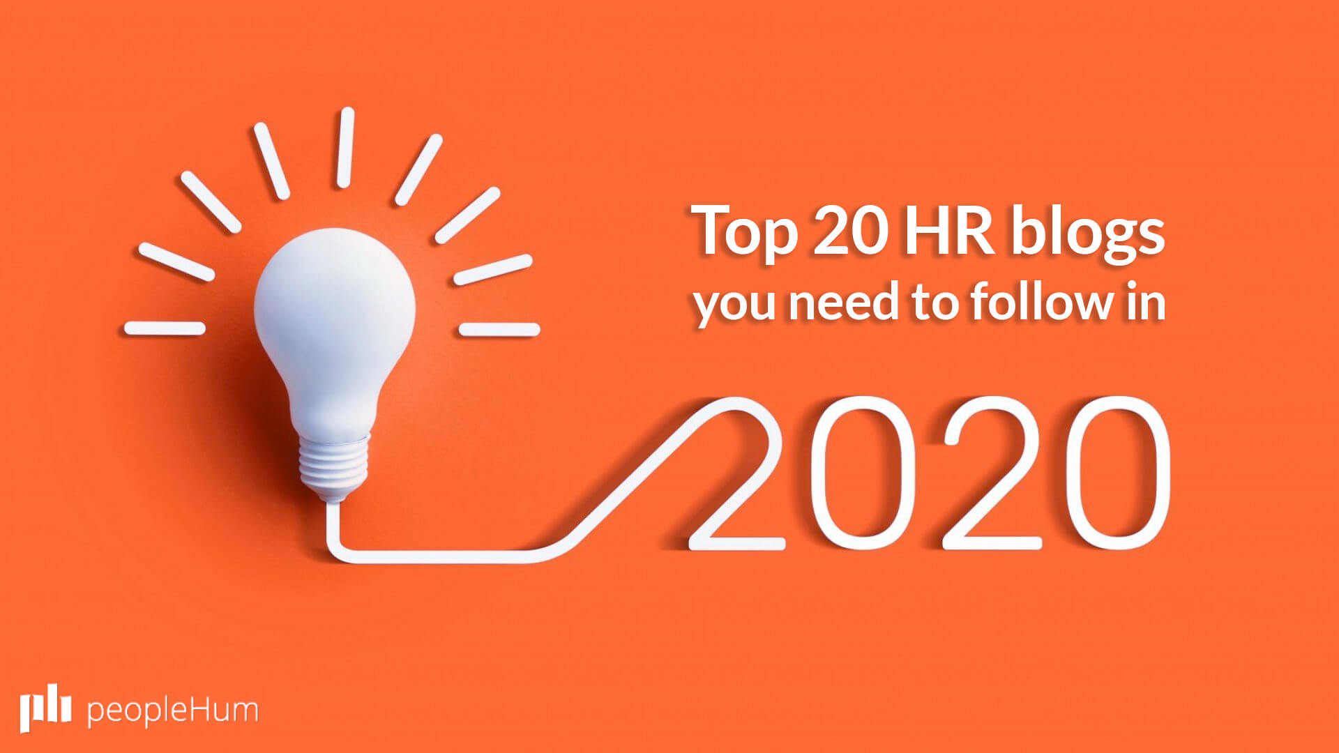 Top 20 HR blogs you need to follow in 2020