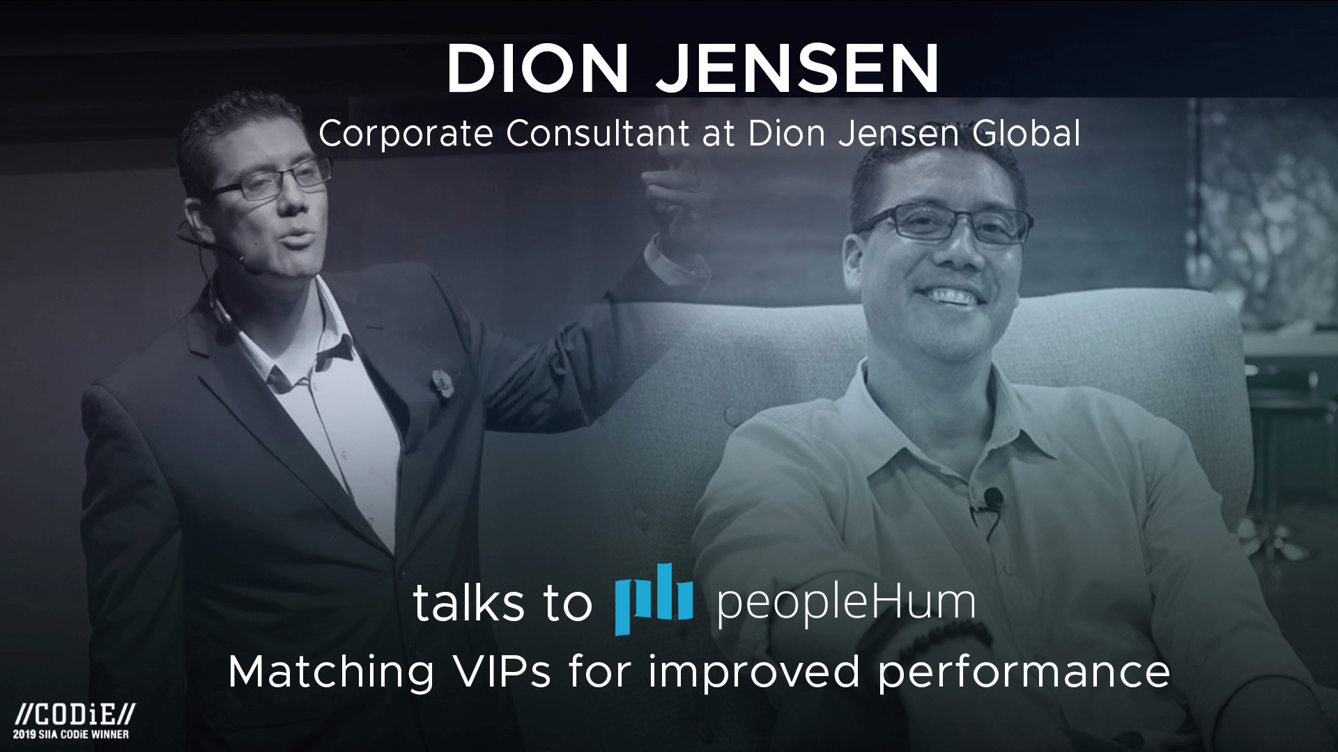 Matching VIPs for improved performance - Dion Jensen [Interview]