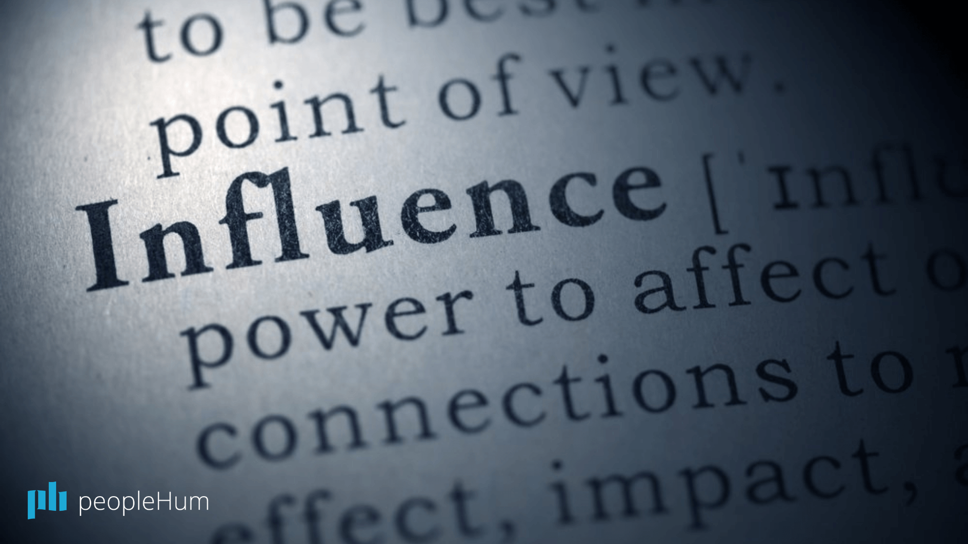 The three R's of influence